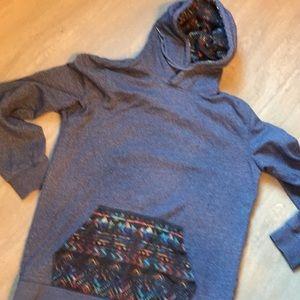 Men's Blue hoodie M